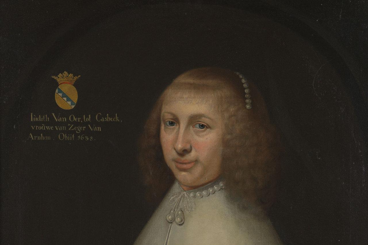Portret van Judith van Oer tot Casbeck