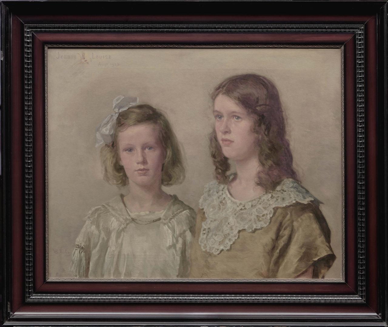 Portret van Jeanne en Louise
