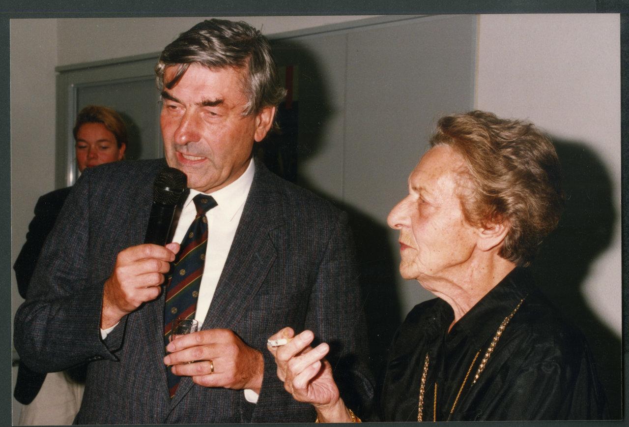 Lubbers met Nel Slis in 1993